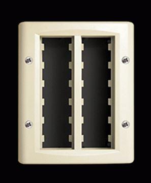 Imagen de Caja exterior 12 módulos marfil Ave (C55631)