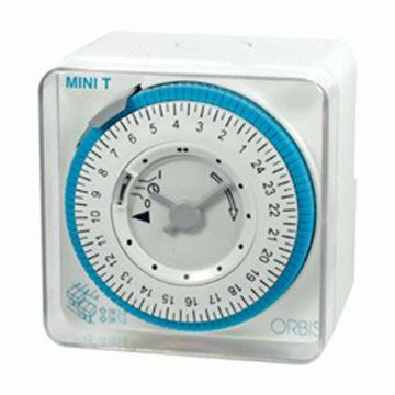 Imagen de Interruptor horario c/reserva MINI T QRD ORBIS