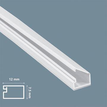Imagen de Ducto 12x7.5mm  c/adhesivo (x 2 m) (MU0010)