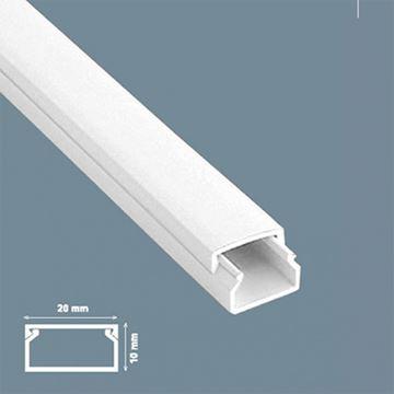Imagen de Ducto 20x10mm c/adhesivo (x 2 m) (MU0012)