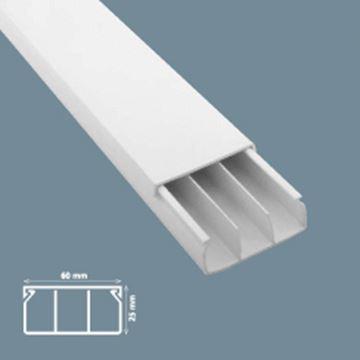 Imagen de Ducto 60x25mm  c/dos separadores ( x 2 m) (MU0043)