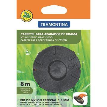 Imagen de Carrete para bordeadora 1.6mm. 8mts TRAMONTINA