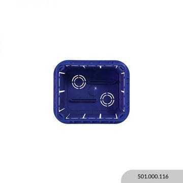 Imagen de Caja registro embutir 113x96x70mm FIRENZE MOLVENO