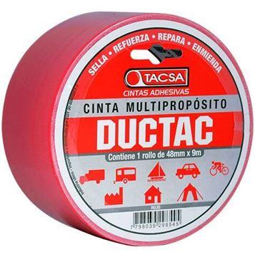 Imagen de Cinta multiuso roja 9m 0.21mm DUCTAC