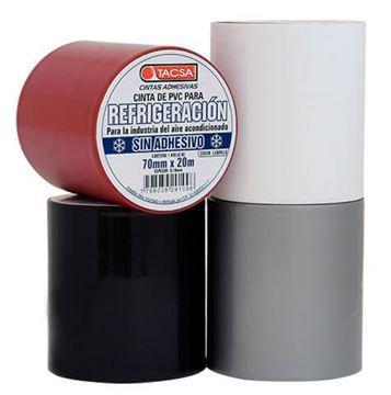 Imagen de Cinta refrigeración sin adhesivo 20m 0.10mm TACSA