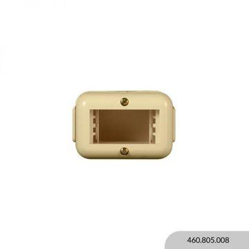 Imagen de Caja exterior marfil 1 módulo REGGIO