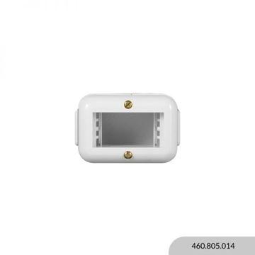 Imagen de Caja exterior blanca 1 módulo REGGIO