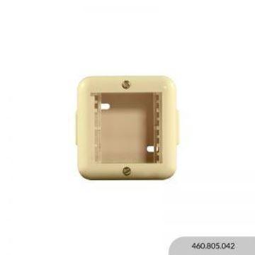 Imagen de Caja exterior marfil 2 módulos REGGIO
