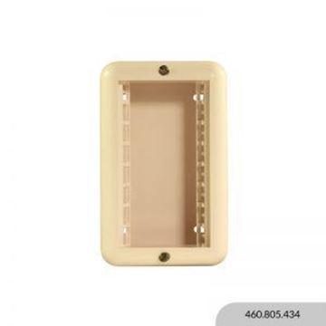 Imagen de Caja exterior marfil 4 módulos REGGIO